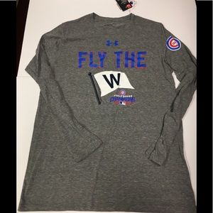 Chicago cubs under armor longsleeve T-shirt large